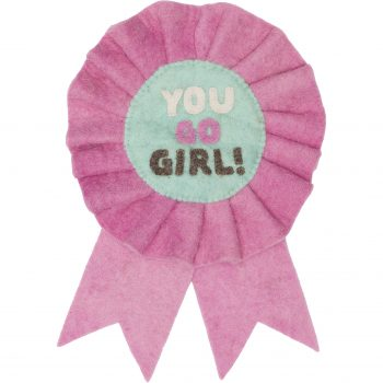 "Bandeira ""You go girl"""