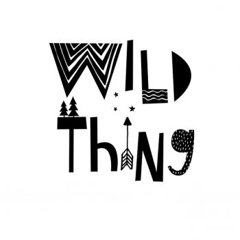 "Póster ""Wild Thing"""